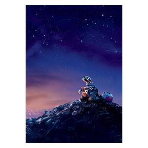 Wall-E. Размер: 35 х 50 см